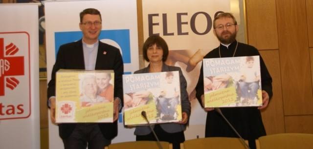 "Konferencja prasowa na temat tegorocznej akcji ""Skarbonka diakonijna"" (fot. Caritas)"