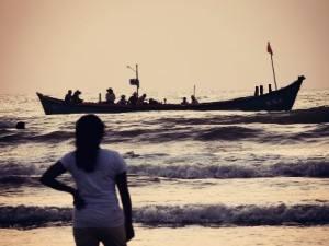 Lodz na morzu