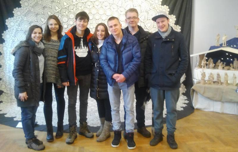 Wolontariusze zagraniczni 2015-16 - seminarium srodroczne, Istebna