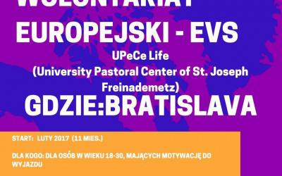 Zostań wolontariuszem w Bratysławie