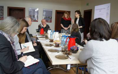 Wizyta niemieckich dziennikarzy