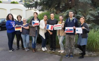 Nowa grupa wolontariuszy zagranicznych