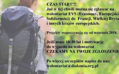 Czas na wolontariat za granicą!