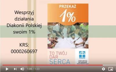 1% podatku dla Diakonii