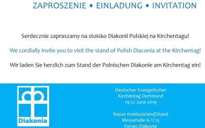 Diakonia Polska na Kirchentagu