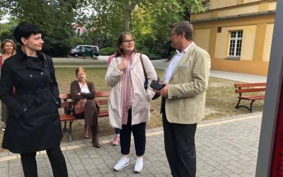 Przedstawiciele Diakonii Niemieckiej we Wrocławiu