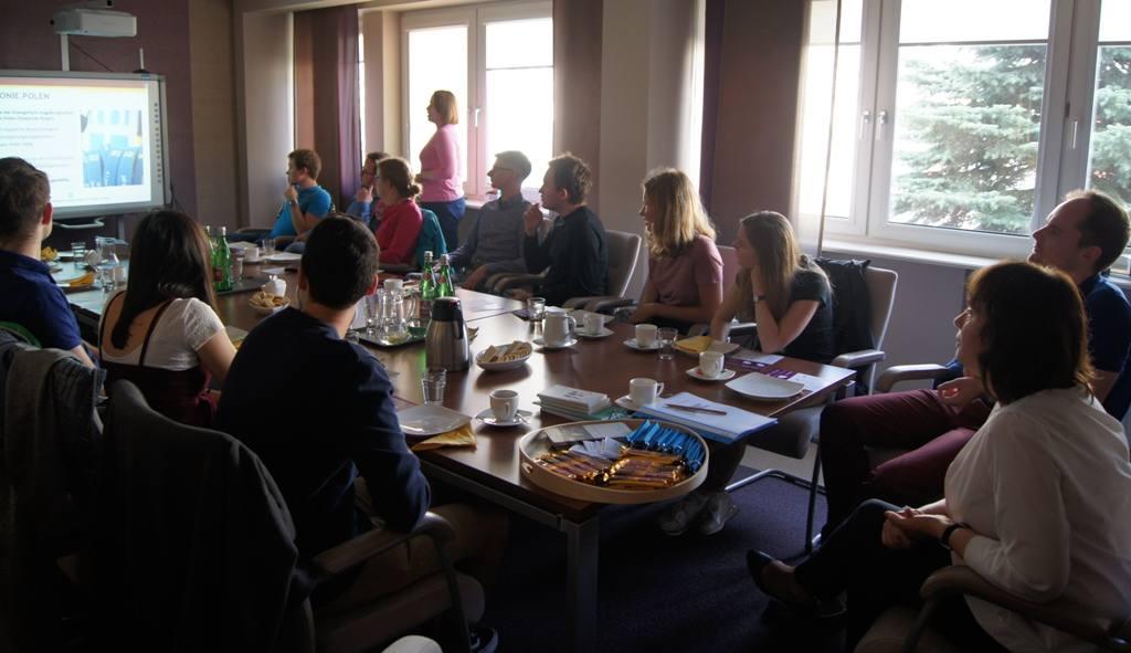 Spotkanie Diakonii ze studentami z Heidelbergu