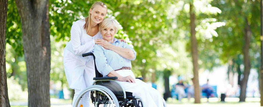 Pomoc osobom chorym i z niepełnosprawnością