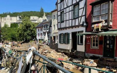 Apel o pomoc poszkodowanym w Nadrenii i Westfalii w Niemczech
