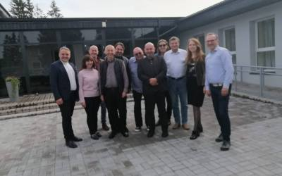 Wyjazd studyjny Kierownictwa Diakonii Polskiej na Litwę